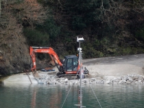 Resurfacing the slipway