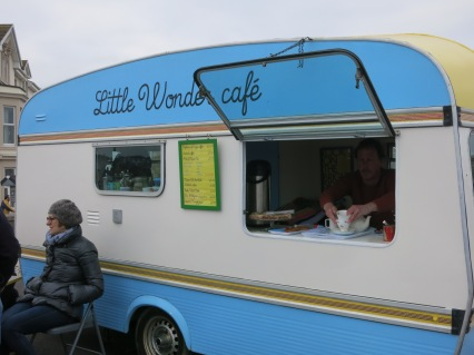The Little Wonder Cafe on the prom in Penzance
