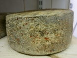 A mature hard cheese with chilli