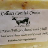 Colliers Cornish cheese with chilli