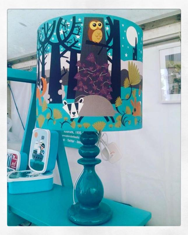 Lampshade from Cornish Bird in the Sticks