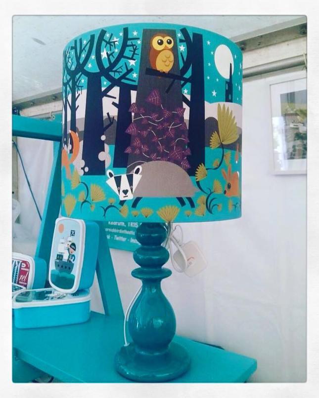 Lampshade from Cornish Bird in the Sticks