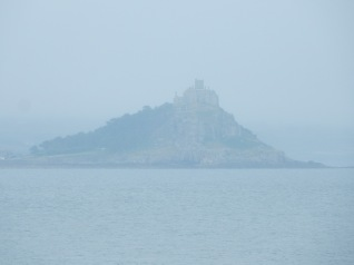 St Michael's Mount in the mist