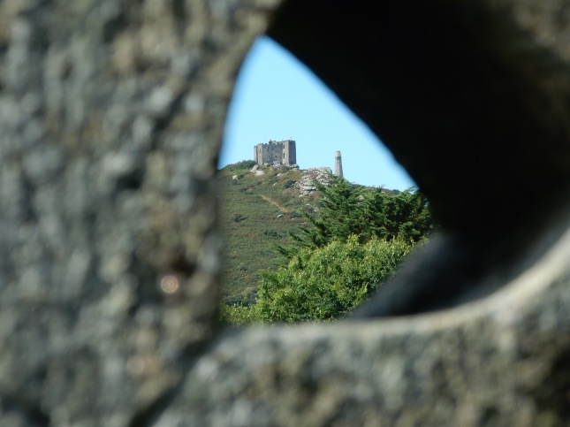 Carn Brea Castle and The Basset Monument