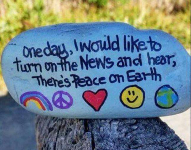 Oneday....Peace