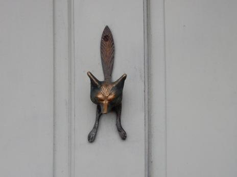 Fabulous fox door knocker