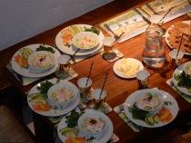 Prawn, Avocado and Smoked Salmon first course