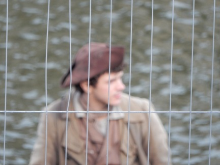 Harry Richardson who plays Demelza's brother, Drake Carne-long zoom!