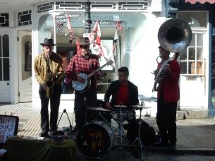 Swervy World, the band we saw on Friday night at Krowji