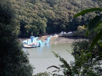 King Harry Ferry from Trelissick