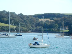 From St Mawes towards Place