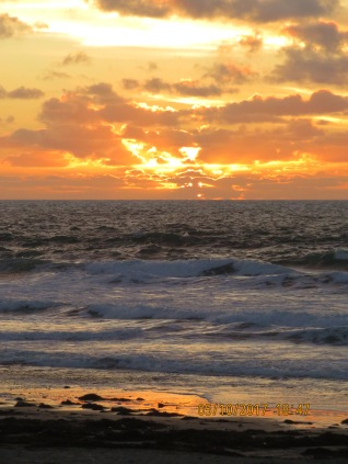 Sunset at Porthtowan