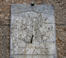 Sundial from 1737