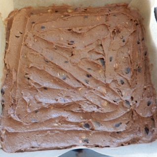 Vegan Brownies ready for the oven