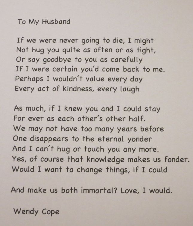 Poems about love for my husband