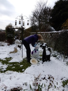 Building my Snow Woman