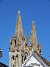 Two spires