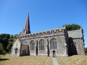 The Parish Church, much of which has been here since the 14th century!