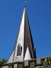 Copper clad spire