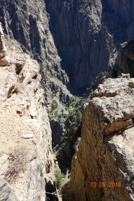 Dramatic gorge