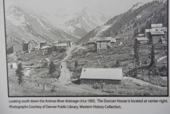 Animas Forks in 1905