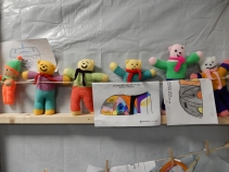 Teddies to go in the boxes