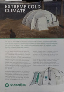 A cold weather tent - Information
