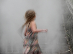 Twirling in the mist