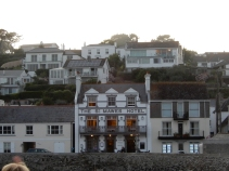 St Mawes Hotel where the punters enjoyed our singing