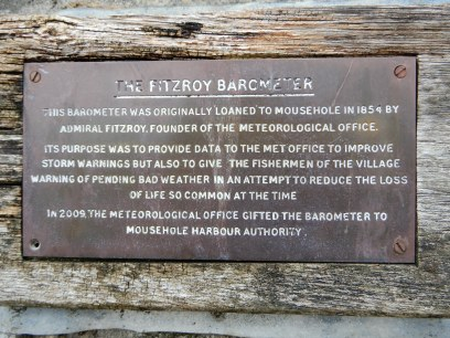 info on The Fitzroy barometer