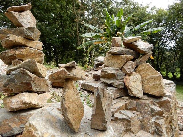 Stone sculptures in Tremenheere